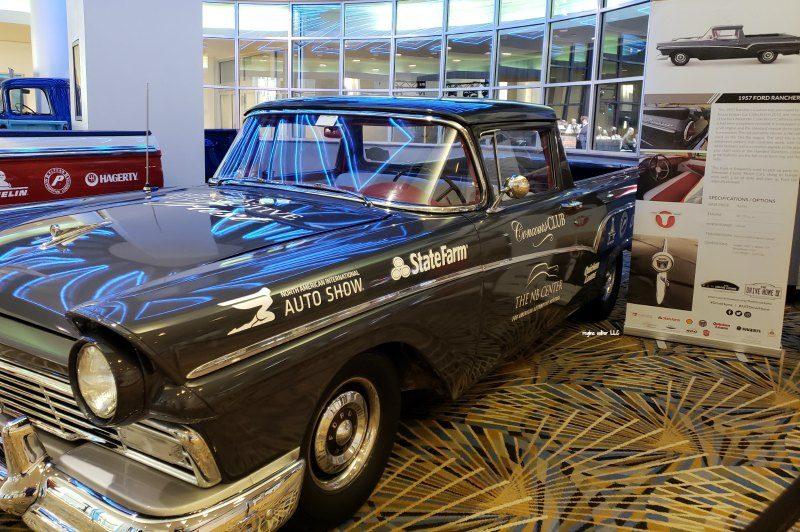 1957 Ford Ranchero Detroit Auto Show