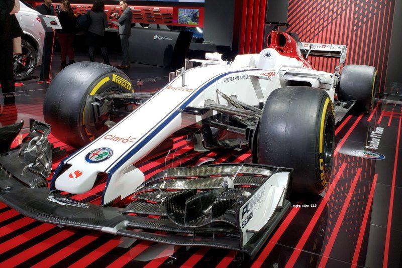 race cars Detroit Auto Show