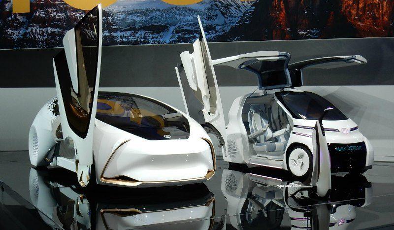 mobility vehicles Detroit Auto Show