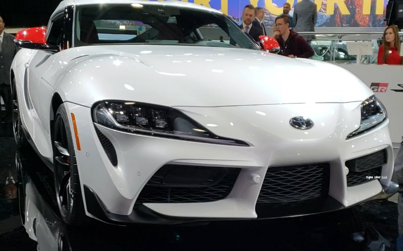 the amazing Toyota Supra