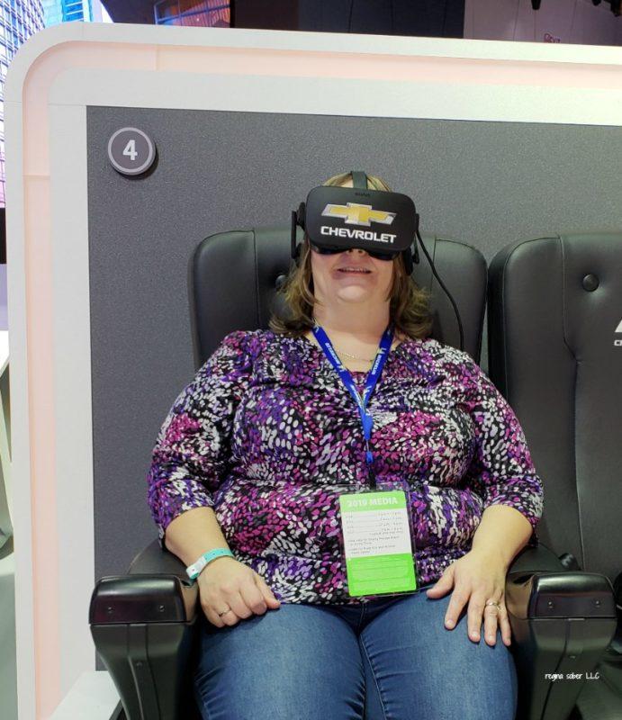 Chevy Virtual Reality Detroit Auto Show