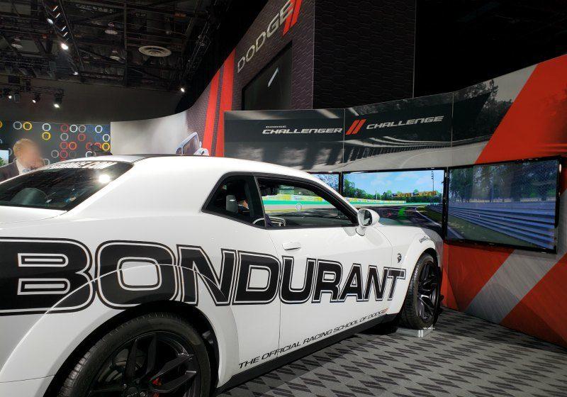 Dodge Bondurant Virtual reality driving school - Detroit Auto Show