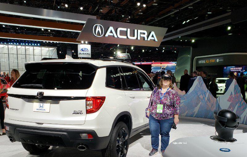 Honda Virtual Reality Detroit Auto Show
