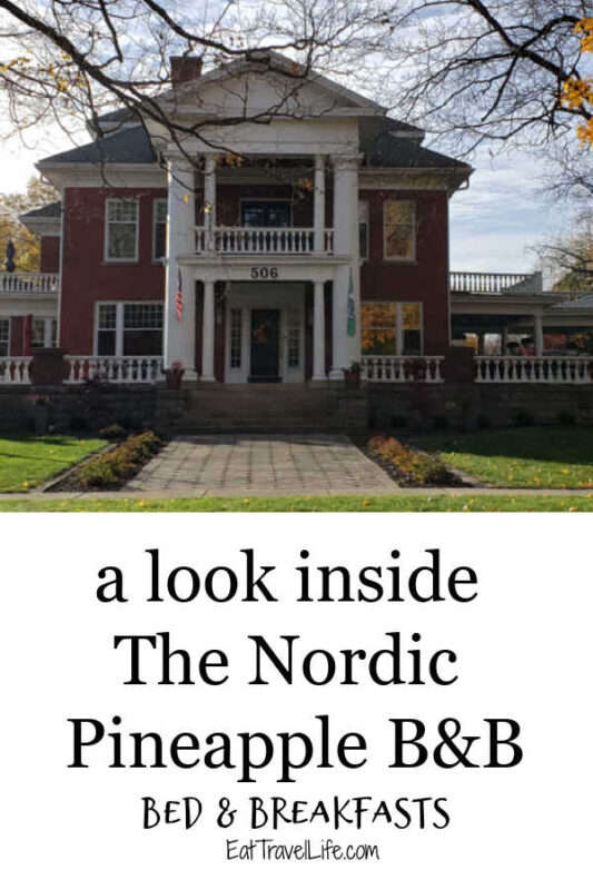 Want to stay in a mansion? See why The Nordic Pineapple is the perfect bed and breakfast for you. A mansion turned B&B in the heart of Michigan. See what it's like inside this beautiful 9000 square foot mansion.
