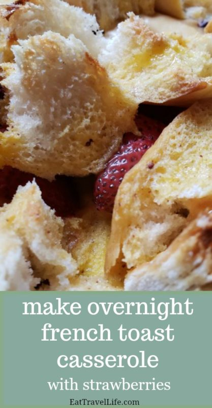 Want an inexpensive breakfast you can make with left overs? You need to check out how you can make his delicious overnight french toast casserole.
