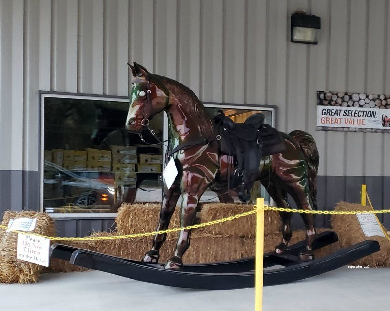 big rocking horse in Casey Illinois