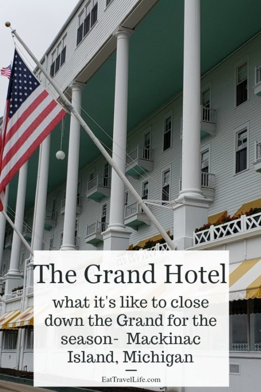 Ever wondered what it's like to close down The Grand Hotel on Mackinac Island? The hotel has a great overnight experience for guests to see first hand.