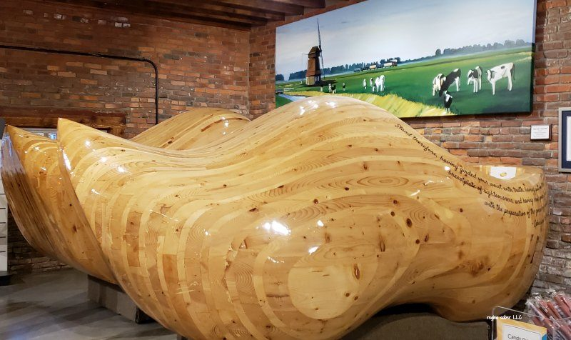 World's Largest wooden shoes in Casey Illinois