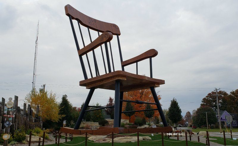 World's Largest rocking chair in Casey Illinois