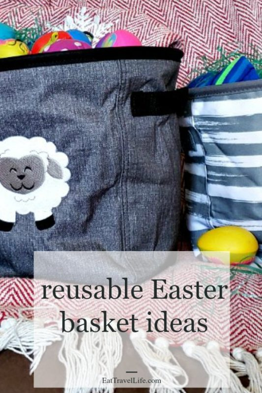 Want an Easter Basket you can reuse? Check out this Easter basket idea that is perfect for adults, tweens & toddlers. How to repurpose it too!