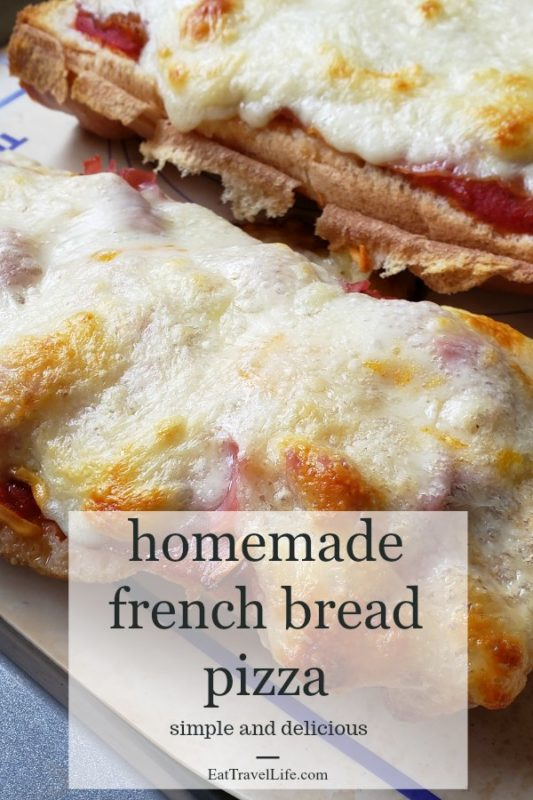 Looking for an inexpensive meal? Consider making homemade french bread pizza. Perfect dish that only requires some fresh bread on hand a few leftovers for ingredients and you've got a delicious homemade pizza.