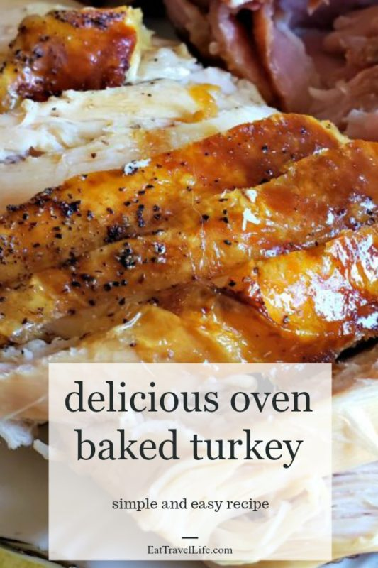 Do you like oven baked turkey? See how you can make a turkey in the oven easily with this recipe. Perfect for all those family gatherings.