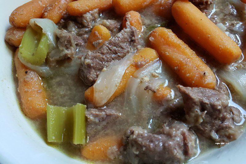 German style stewed meat