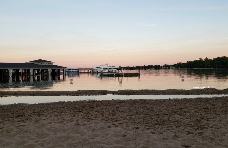 Zorn Park Beach Harbor Springs Michigan