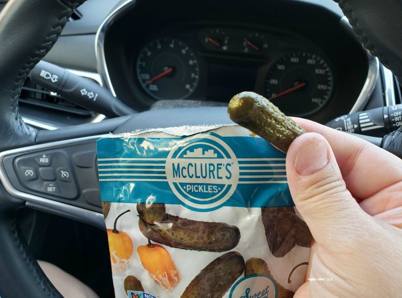 McClure pickle packs easy pickle on the go