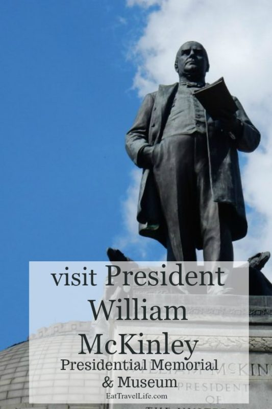 Near Canton Ohio? You need to check out President William McKinley's Memorial. So many artifacts in the museum and a gorgeous monument in his honor.