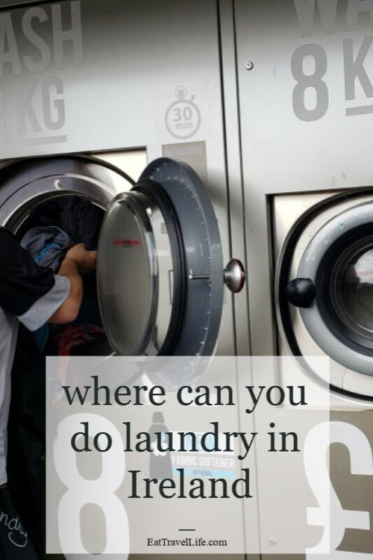 Planning on doing laundry in Ireland? You need these tips to be able to even find the laundry mat. It wasn't easy at first finding the laundrette.