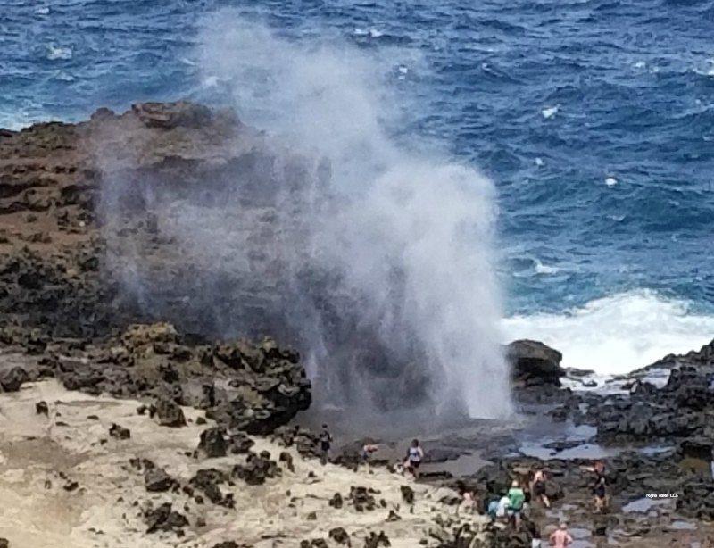 Nakalele blowhole hawaii
