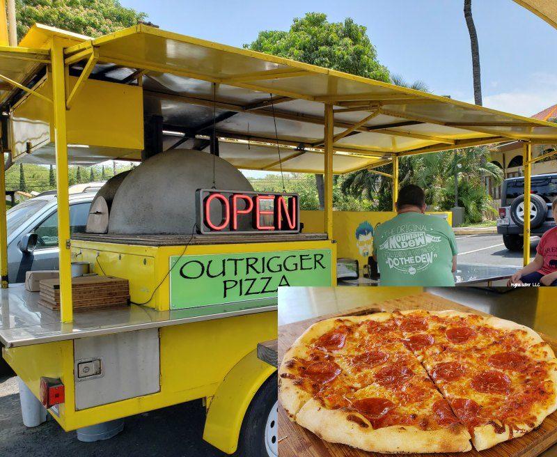 outrigger pizza maui