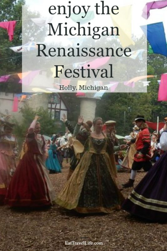 Have you been to the Michigan Renaissance Festival in Holly Michigan? Come check this festival out in late August to early October. Get a turkey leg!