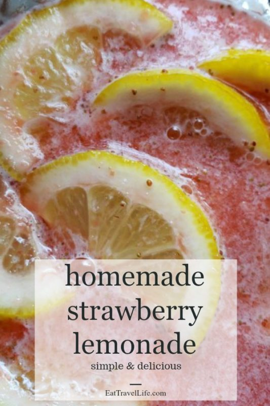 Have you tried making homemade strawberry lemonade? It just might become your favorite lemonade to make! This Strawberry lemonade recipe is simple to make.