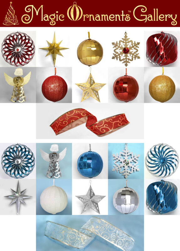 collapsable ornaments