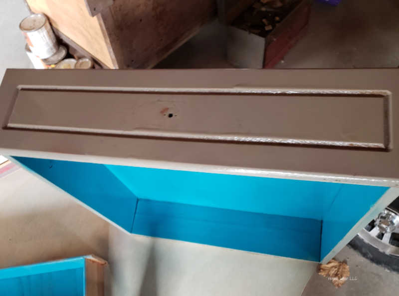 exterior paint drawer