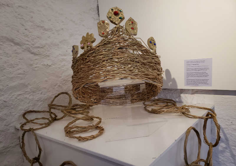 crown in exhibit of Stirling Castle