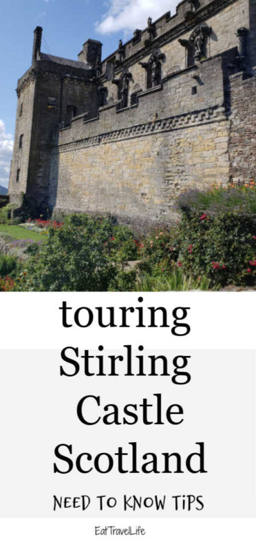 When traveling to Scotland, add Stirling Castle to your places to visit. We are sharing tips to visit and our experience of this beautiful destination.