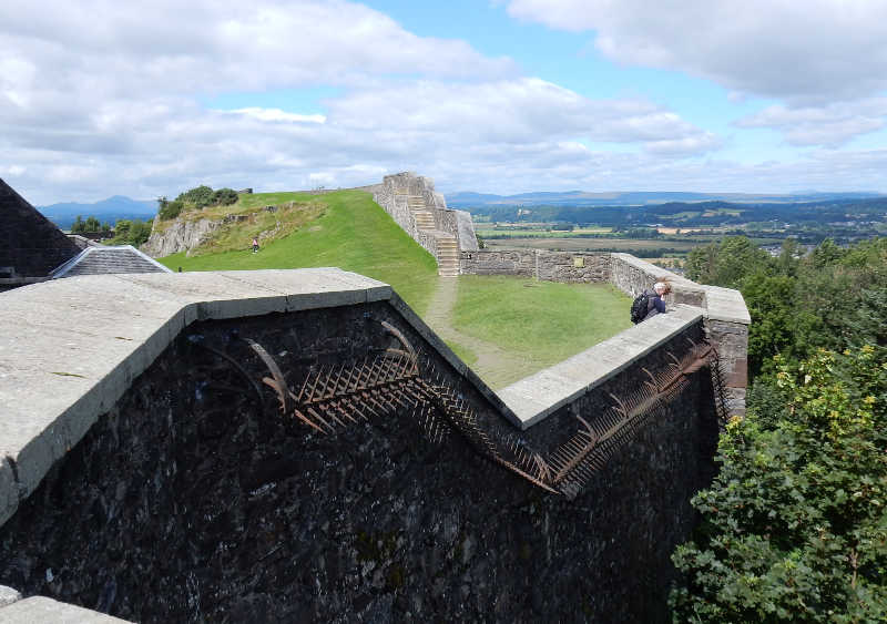 wall at Stirling Castle