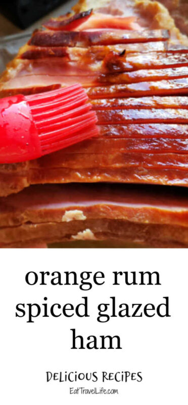 Do you love baked ham? You need to make this orange rum glaze for your next meal. This glazed ham recipe is simple and delicious to make.