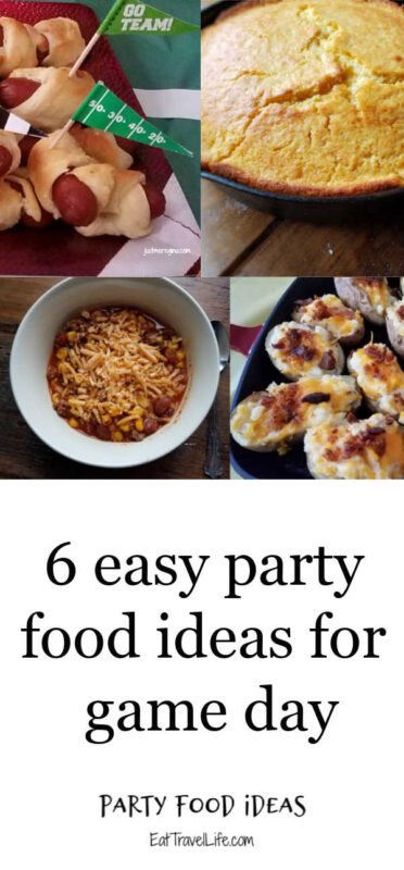 The best party food ideas for your next game day party. Perfect foods to serve to your friends and family and enjoy the big game.
