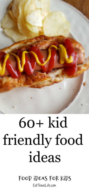 Running out of ideas on what to make your kids for dinner? We've got over 60 kid friendly recipe ideas to make. That's 2 months of different food ideas!