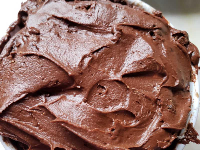 mini mug chocolate cake