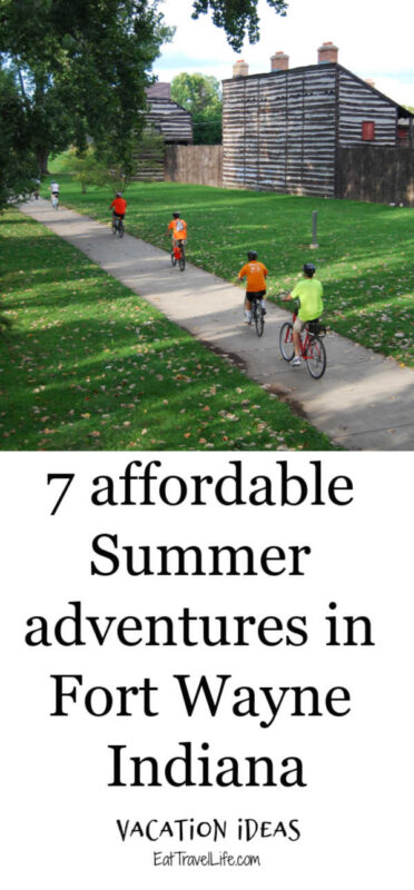 On a budget for your next vacation? Check out Fort Wayne Indiana several affordable outdoor adventures for your next Midwest family vacation.