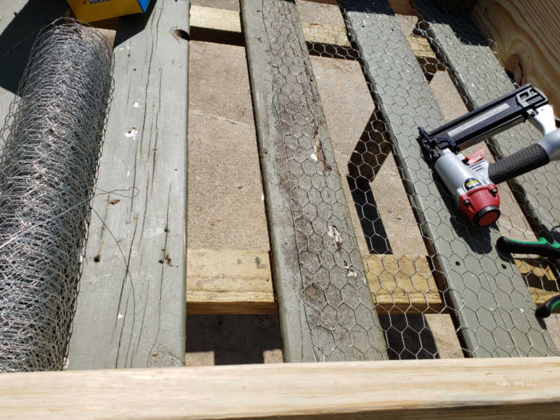 """5/4 x 6"""" deck boards raised bed"""