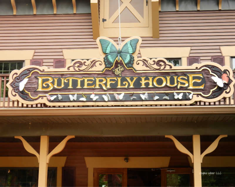 Butterfly house PIB