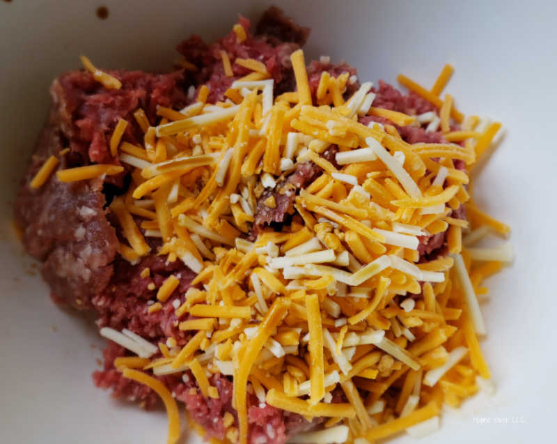 ground beef with cheese
