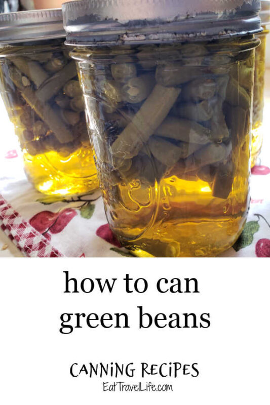 Love green beans? Did you know you can can green beans from your garden, the farmers market & even the store to enjoy year round? Here's how.
