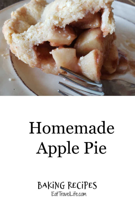 This easy apple pie recipe is full of delicious apples. Paired with a perfect amount of cinnamon & sugar, makes this a perfect Fall dessert.