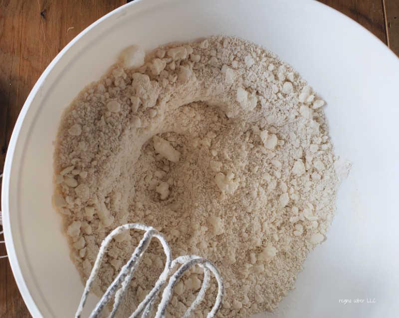 dough dry