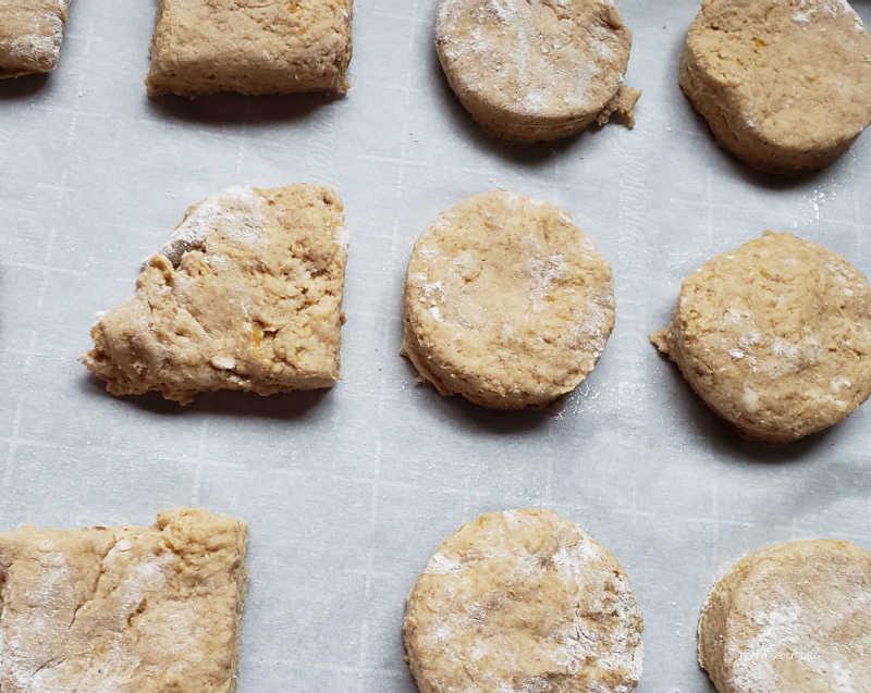 baking sheet scones