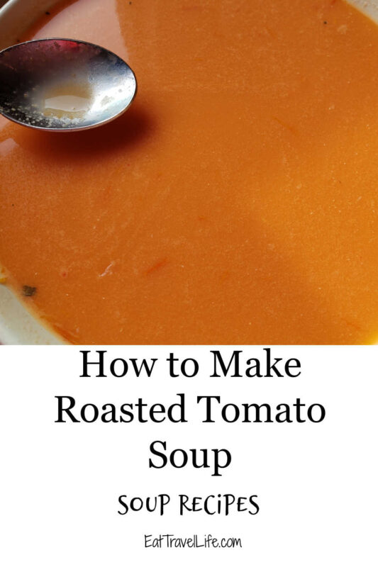 Love homemade soup? We have a delicious roasted tomato soup recipe. Perfect with your favorite grilled cheese and an easy weekday meal.
