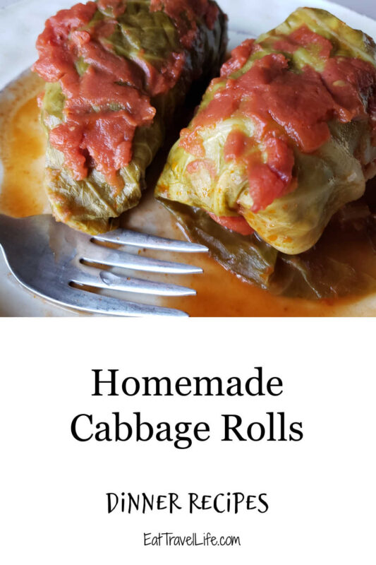 Looking for easy stuffed cabbage rolls? This is your recipe. They are easy to make, delicious and a great portion size.