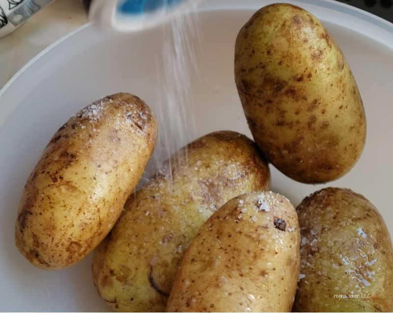 bowl of potatoes