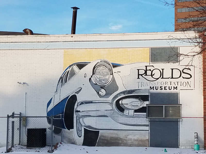 REO Olds Museum Mural