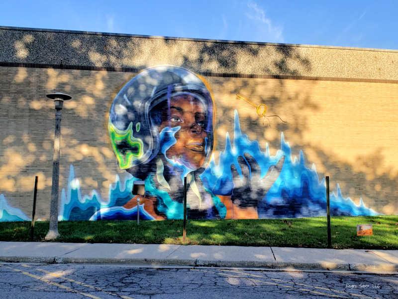 Lansing Media Center Mural