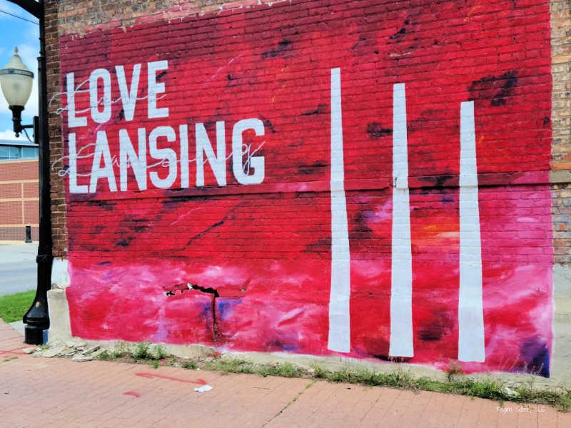 Love Lansing Mural