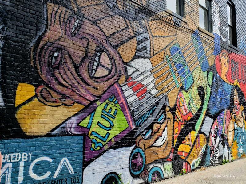 Artist MICA - Old Town Lansing Mural