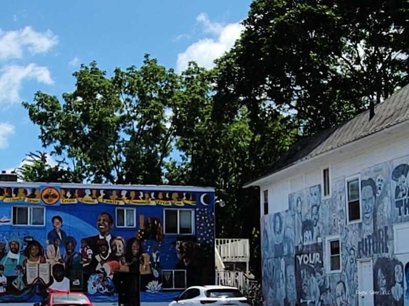 Lansing Mural Saginaw Butler Street